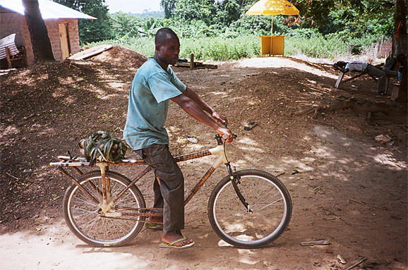 Bikes For Africa Getting around rural Africa is